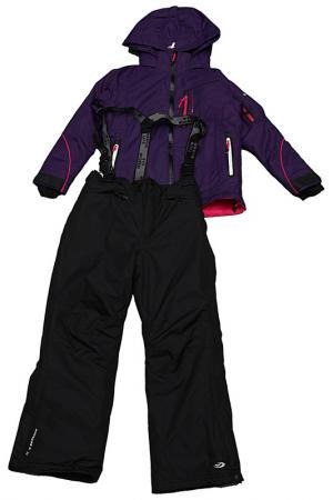Горнолыжный костюм Five seasons. Цвет: фиолетовый