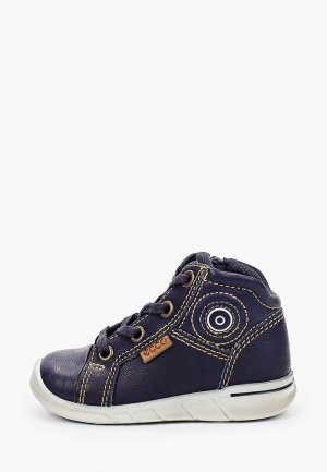 Ботинки Ecco FIRST. Цвет: синий