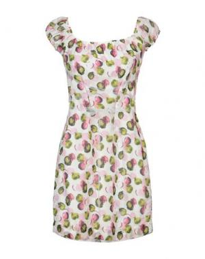 Короткое платье FRANCESCA FERRANTE. Цвет: розовый