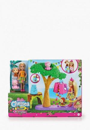 Набор игровой Barbie Челси-футболист с куклой, щенками и аксессуарами. Цвет: разноцветный