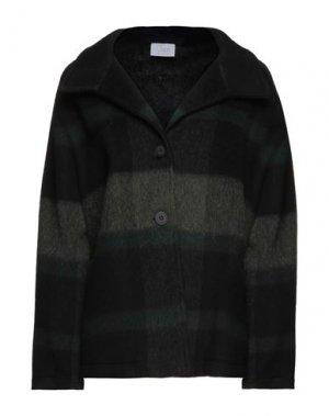 Пальто CLIPS MORE. Цвет: черный