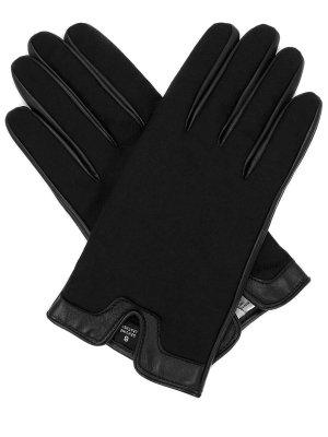 Перчатки комбинированные PIACENZA. Цвет: черный