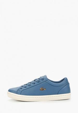 Кеды Lacoste STRAIGHTSET 119 2 CFA. Цвет: синий