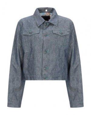Джинсовая верхняя одежда FEMME by MICHELE ROSSI. Цвет: синий