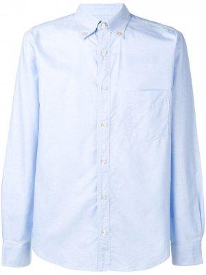 Джинсовая рубашка на пуговицах PAUL SMITH. Цвет: синий