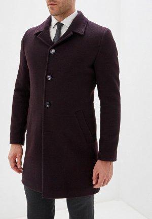 Пальто Berkytt. Цвет: фиолетовый