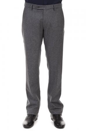 Классические брюки Berwich. Цвет: серый