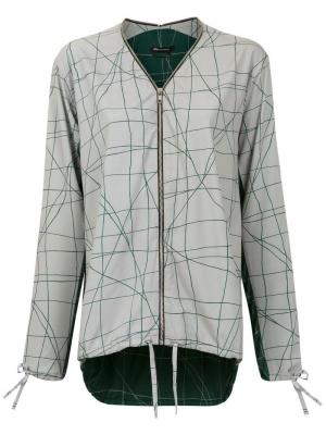 Cesta print jacket Uma | Raquel Davidowicz. Цвет: серый