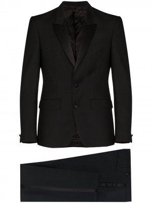 Костюм с однобортным пиджаком Givenchy. Цвет: черный