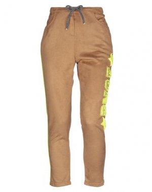 Повседневные брюки BRAND UNIQUE. Цвет: верблюжий
