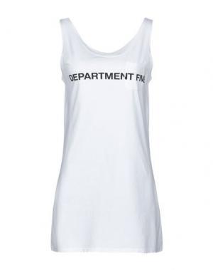 Майка DEPARTMENT 5. Цвет: белый