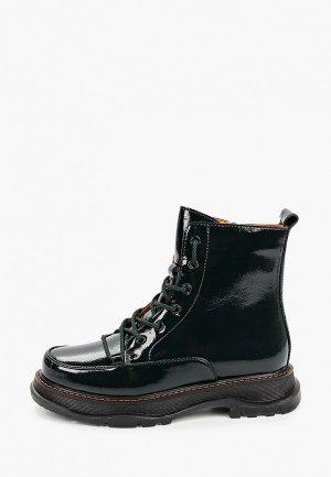 Ботинки Covani. Цвет: зеленый