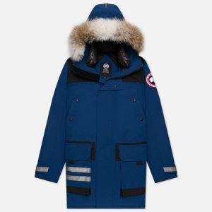 Мужская куртка парка Erickson Canada Goose. Цвет: синий
