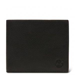 Мелкая и кожаная галантерея Kennebunk Bifold Wallet Timberland. Цвет: черный