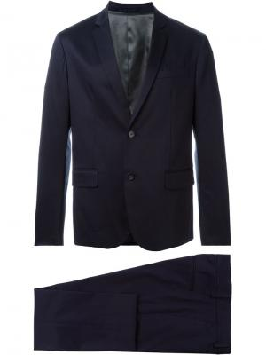 Классический костюм Paolo Pecora. Цвет: синий
