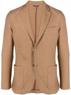 Однобортный пиджак Loro Piana. Цвет: нейтральные цвета