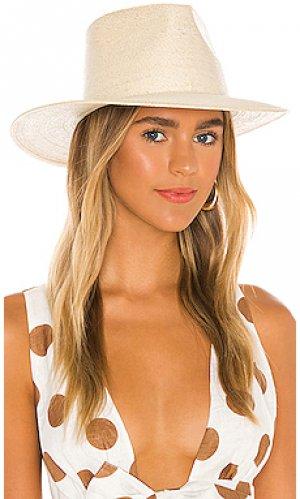 Шляпа marcos Brixton. Цвет: кремовый