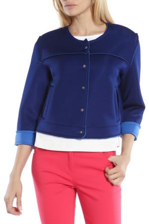 Куртка-ветровка CAMOMILLA ILOVE. Цвет: синий