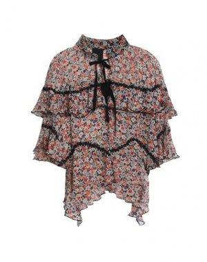 Блузка ANNA SUI. Цвет: слоновая кость
