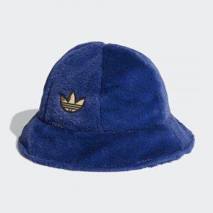 Меховая панама SPRT adidas. Цвет: синий