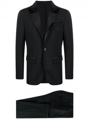 Костюм с однобортным пиджаком Dsquared2. Цвет: черный