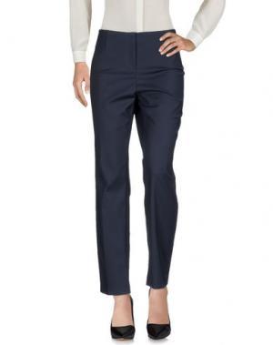 Повседневные брюки LES COPAINS. Цвет: темно-синий