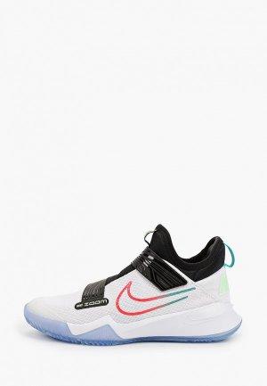 Кроссовки Nike ZOOM FLIGHT (GS). Цвет: белый