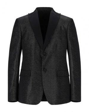 Пиджак VERSACE COLLECTION. Цвет: черный