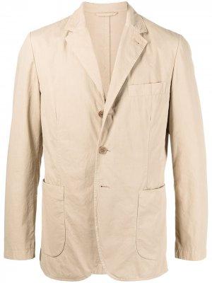 Пиджак свободного кроя Aspesi. Цвет: нейтральные цвета