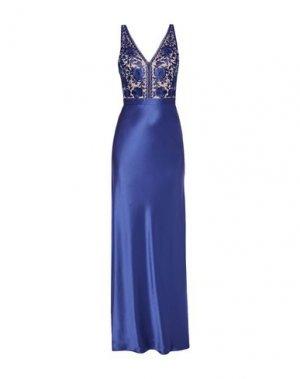 Длинное платье CATHERINE DEANE. Цвет: синий