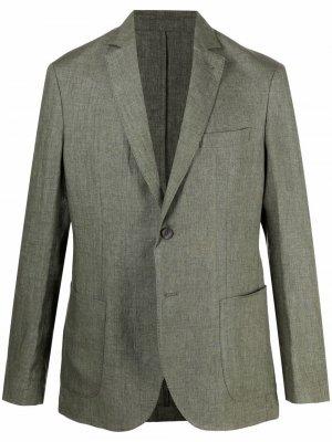 Пиджак строгого кроя Malo. Цвет: зеленый