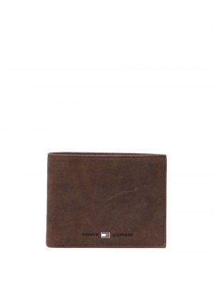 Бумажник с логотипом Tommy Hilfiger. Цвет: коричневый