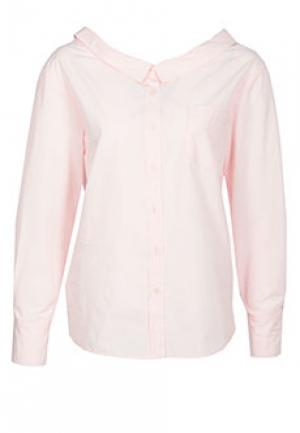 Рубашка PINKO. Цвет: розовый