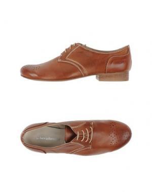 Обувь на шнурках ALBERTO BRESSAN. Цвет: коричневый