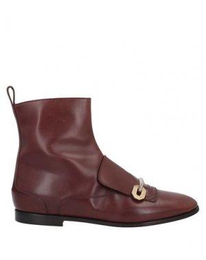 Полусапоги и высокие ботинки MAGLI by BRUNO. Цвет: коричневый