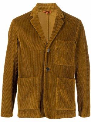 Вельветовый пиджак Barena. Цвет: нейтральные цвета