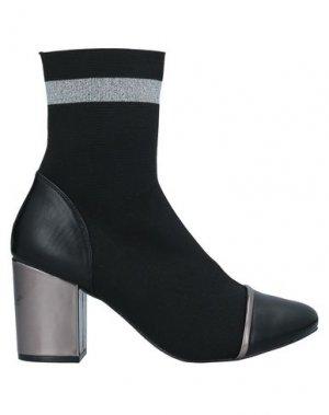 Полусапоги и высокие ботинки GIOSEPPO. Цвет: черный