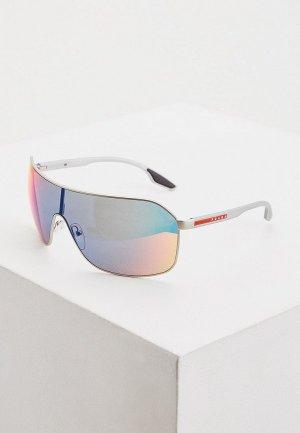 Очки солнцезащитные Prada Linea Rossa 0PS 53VS 1AP9Q1. Цвет: серый