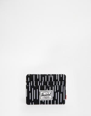 Визитница Charlie Herschel Supply Co. Цвет: черный