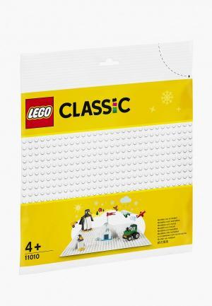 Конструктор LEGO White Baseplate. Цвет: разноцветный