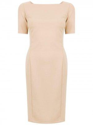 Short sleeved dress Gloria Coelho. Цвет: нейтральные цвета