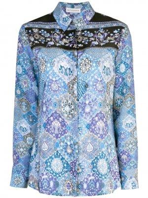 Блузка с принтом Altuzarra
