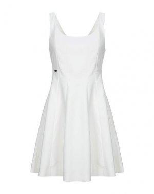 Короткое платье EUREKA by BABYLON. Цвет: белый