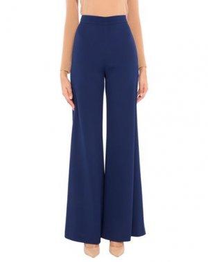 Повседневные брюки BOTONDI MILANO. Цвет: темно-синий