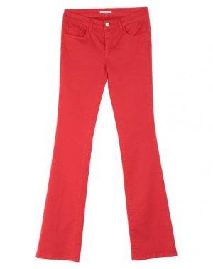 Повседневные брюки FRACOMINA. Цвет: красный