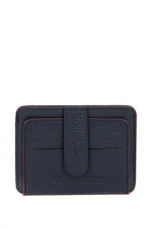Визитница U.S. Polo Assn.. Цвет: vr033 темно-синий