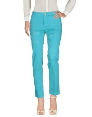 Повседневные брюки TRĒS CHIC S.A.R.T.O.R.I.A.L. Цвет: лазурный