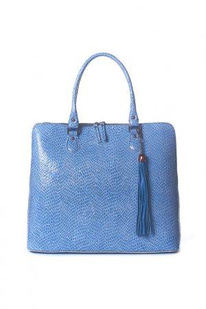 Сумка Gilda Tonelli. Цвет: голубой