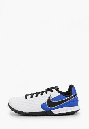 Шиповки Nike JR LEGEND 8 ACADEMY TF. Цвет: белый