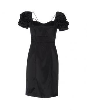 Короткое платье CARLO PIGNATELLI. Цвет: черный